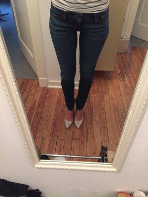 Neu! Abercrombie & Fitch Skinny Jeans Stretch dunkelblau W28/L33