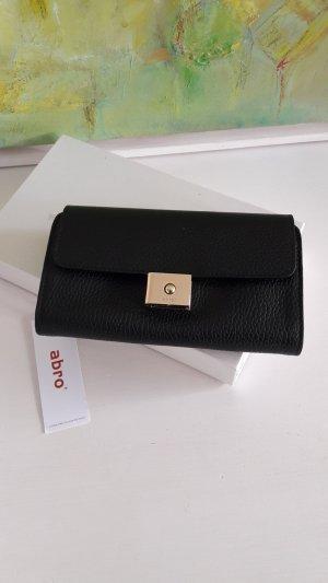 Neu! Abro Portemonnaie in schwarz