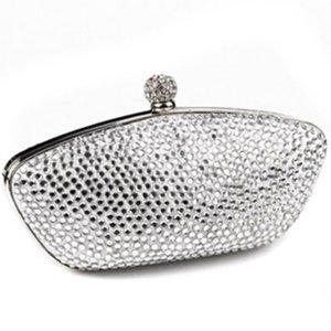 Neu! Accessorize Clutch Tasche Silber Diamanten Steinchen Party