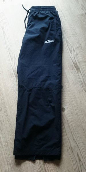 Adidas Originals Pantalone da ginnastica blu scuro Tessuto misto