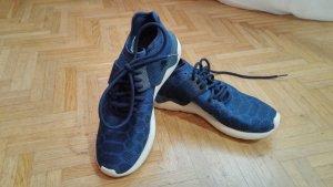 """*NEU* Adidas Schnürsneaker (""""Tubular Runner Prim""""), blau"""
