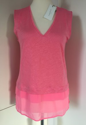 NEU - Ärmelloser Pullunder/Shirt in Rosa von Sandro Paris (NP 95,00 €)