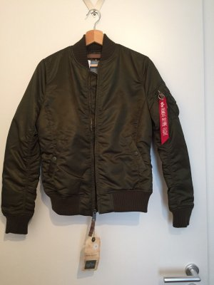 Alpha Industries Blousje donkergroen Nylon