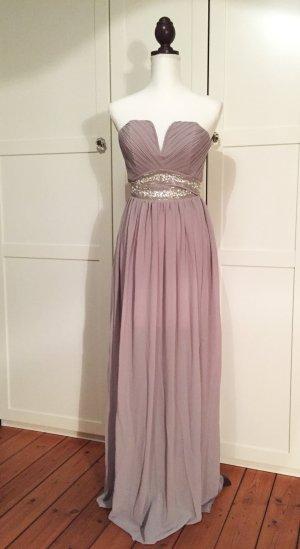 NEU altrosa Maxikleid Abendkleid Cocktailkleid rosa Hochzeitsgast