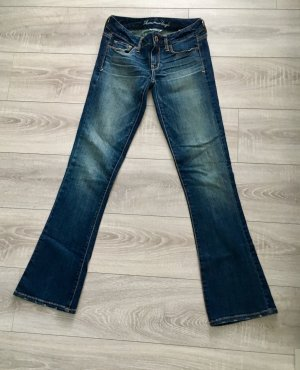 American Eagle Outfitters Jeans svasati multicolore