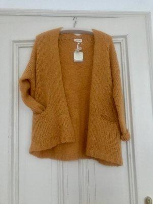 American Vintage Cardigan light orange wool