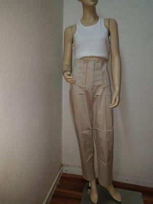 Apart Pantalon taille haute crème-beige