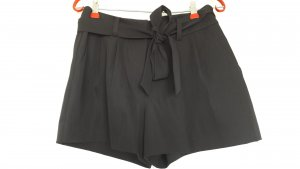NEU Apart schwarze Business Shorts mit Bindegürtel Gr. 36