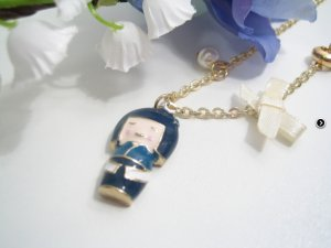NEU +++ Asia Statement *Geisha* Vintage Gold KETTE +++ NEU