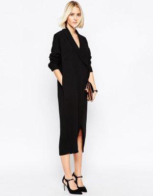 Neu! Asos White Blazer Dress Ausverkauft! Clean Oversize Blogger Trend 38