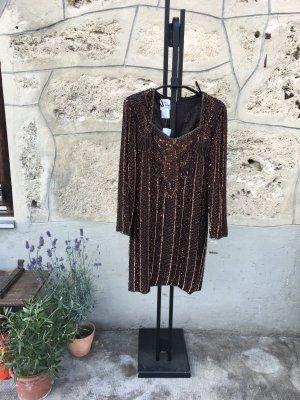 Joseph Ribkoff Vestido de noche marrón