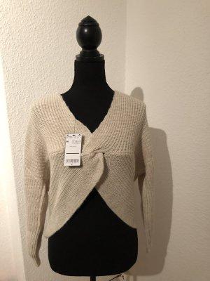 Neu, Ausverkauft Mango Pullover mit Knotendetail am Rücken