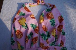 # NEU Badeanzug Pineapple XL Rosa Push Up
