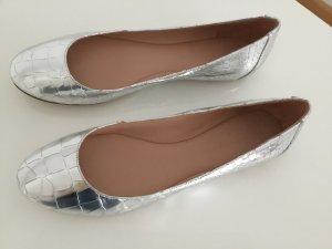 """Neu! Ballerina """"Bottle"""" von Sigerson Morrison in Silber"""