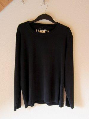 NEU: Basic-Longsleeve - schwarz/XL