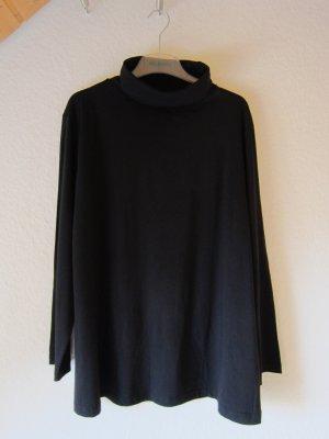 NEU: Basic-Rollkragenshirt schwarz - Größe 50/52