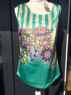 Basler T-shirt imprimé multicolore tissu mixte