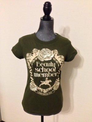 Neu!! Baumwoll-Shirt von Mango mit schöner Stickerei, Gr S