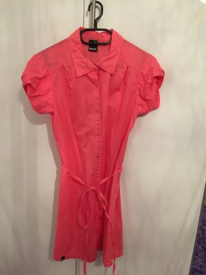 NEU Bench Kleid Longbluse Bluse Coralle Rot Größe S