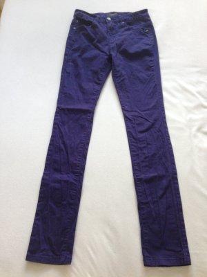 Selected Femme Pantalone elasticizzato blu-viola scuro