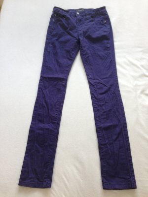 Selected Femme Stretch Trousers blue-dark violet