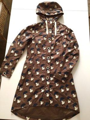Heavy Raincoat multicolored polyester