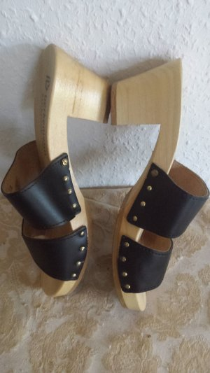 Berkemann Heel Pantolettes black