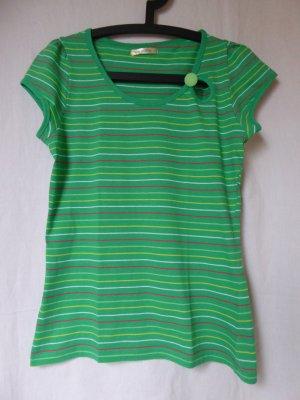 NEU: Besonderes, grün-gestreiftes T-Shirt von Fishbone