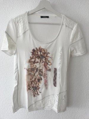NEU!!! BiBA Damen T-Shirt Gr.S - mit Spitze - (50% RABATT)
