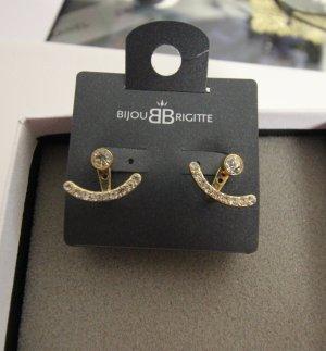 Bijou Brigitte Pendiente color oro-color plata
