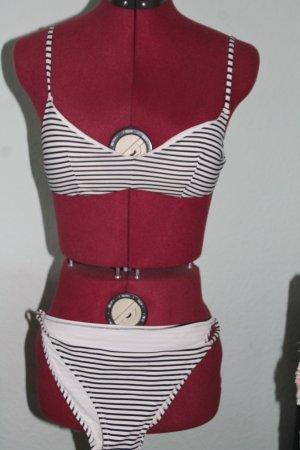 NEU Bikini schwarz-weiß von Tezenis Gr.38 / 70 B