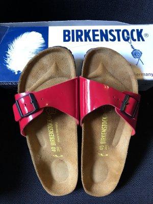 Birkenstock Comfort Sandals red-dark brown