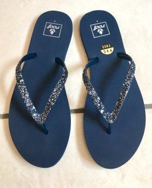 Reef Flip-Flop Sandals dark blue-blue