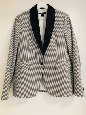 Gant Blazer white-dark blue cotton