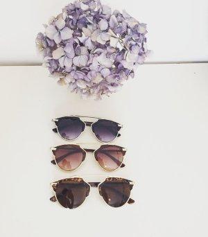 NEU Blogger Sonnenbrille Brille Vintage Stil Retro Klassisch
