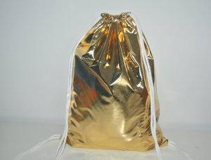 Neu°Blogger Turnbeutel Gym Bag gold glänzend°