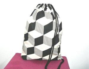 Neu - Blogger Turnbeutel Gym Bag Rucksack geometrisch -