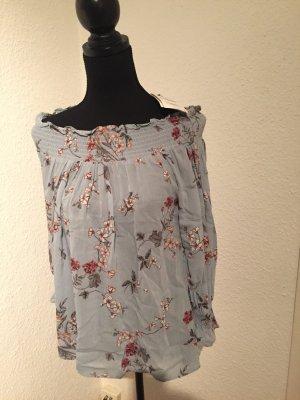 Neu, Bluse von ZARA mit Blumenmuster