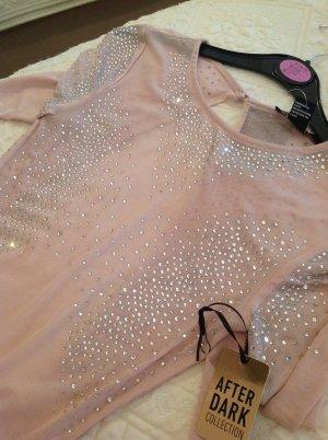 Forever 21 Backless Top dusky pink polyester