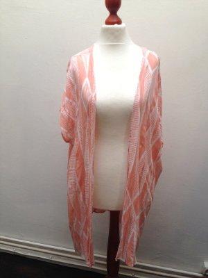 Neu! Boohoo Kimono Oversized Blazer Jacke nude Gr. XS 32 34