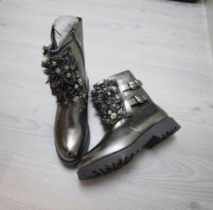 Laarzen zilver-grijs