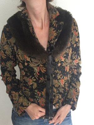 NEU ++ Bouclé-Jacke mit Fellkragen ++ only PREMIUM Esprit top Blazer Jacket