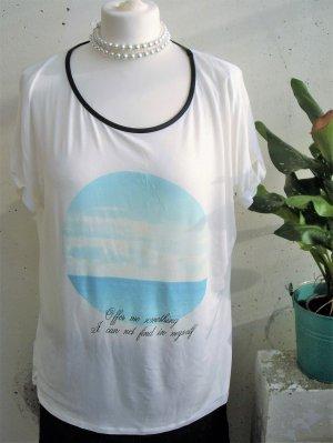 *NEU* Broadway Fashion: Shirt mit Print / Statementshirt