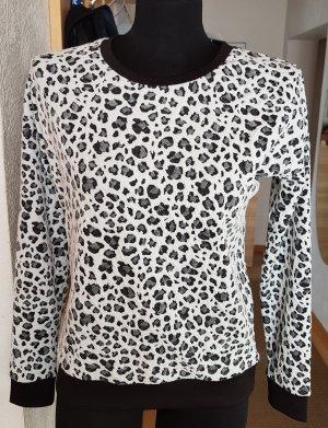 NEU Broadway Shirt Sweatshirt Weiß-Schwarz S