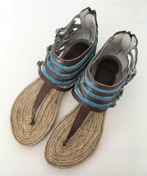 Bronx Roman Sandals multicolored leather