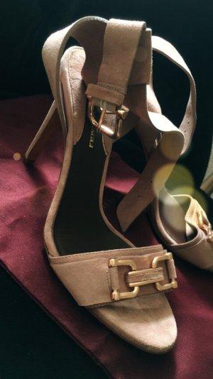 Bruno Magli High Heel Sandal multicolored suede