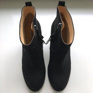 Neu Buffolo Stiefeletten Ankle chic Boots 39 Schwarz Stiefel