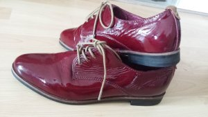 Neu Bugatti Italy Lackleder Schnürschuhe Businessuhe gr 37 Schuhe Sneckers