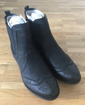 Bullboxer Chelsea Boots black imitation leather