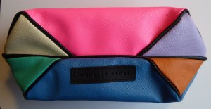 Bag multicolored synthetic material